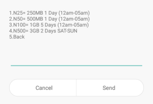 Glo Introduces 1GB for N100 Data plan