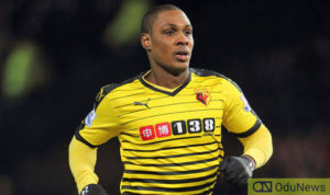 JUST IN!! Manchester United In 'Desperate Talks' To Sign Odion Ighalo, New Report Reveals
